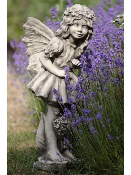 Gartenfigur Flower Fairy Vanilleblume