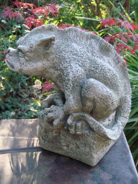 Gargoyle Bertie designed by Fiona Jane Scott