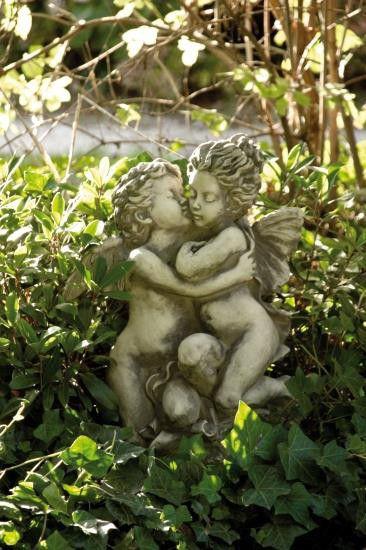 """Skulpturduett """"DER ERSTE KUSS"""" William Bouguereau"""