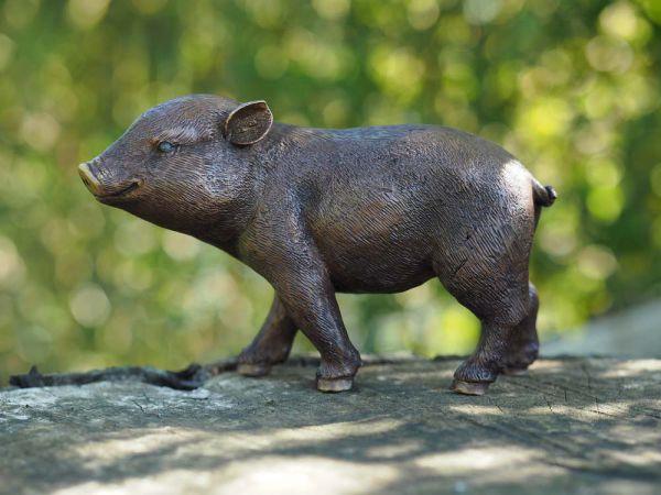 Schwein aus Bronze
