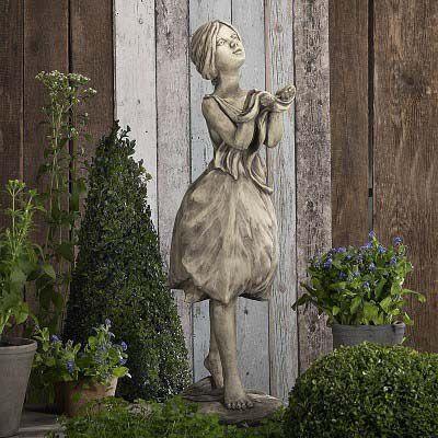 Gartenfigur Blütendame Tulpe