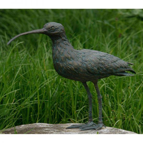 Brachvogel Bronzefigur